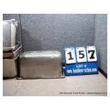 "7""x12""x4"" STAINLESS PANS W/ LIDS (4X MONEY)"