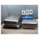 """12""""X18""""X4"""" STAINLESS PANS (4X MONEY)"""