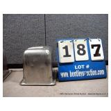 """6""""X6""""X6"""" STAINLESS PANS (4X MONEY)"""