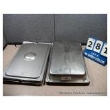 STAINLESS PANS - 12 X 18 X 3 (4X MONEY)