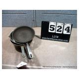 COOKING PANS (4X MONEY)
