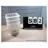 6X6X6 PLASTIC BINS (4X MONEY)