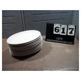 "12"" OVAL WHITE PLATES (11X MONEY)"