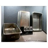 20X12X6 STAINLESS PANS (3X MONEY)