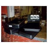 20X12X2 BLACK PANS