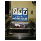 """20""""X18""""X4"""" STAINLESS PANS (4X MONEY)"""