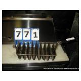8 TACO SHELL FRYER- BLACK HANDLE (2X MONEY)
