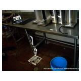 """12""""X30"""" STAINLESS TABLE FOR ICE & DRINKS"""
