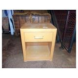 1 DRAWER WOOD STAND
