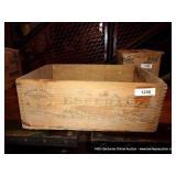 ESPERANZA WOODEN BOX