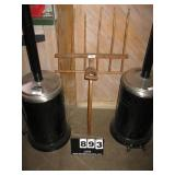 WOODEN PITCH FORK