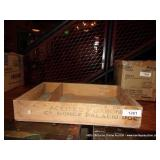 ACEITES TABON WOODEN CRATE