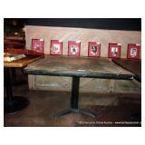 41X41 GARDUNOS TABLE 3 FOOT PEDESTAL