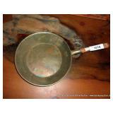 DECORATIVE METAL FRYING PAN