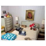 LOT: (6) PIECE DREXEL BEDROOM SUITE, CHEST OF