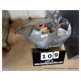 LOT: (2) BAGS~ASSORTED BOOKS, NOVELS