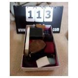BOX: ASSORTED JEWELRY BOXES-EMPTY