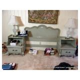 NATIONAL FURNITURE COMPANY 5-PIECE BEDROOM SUITE~