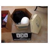 BOX: WIG W/ STYROFOAM HEAD