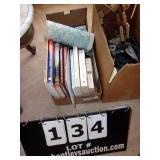 BOX: ASSORTED BOOKS & NOVELS