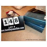 LOT: 2-METAL LOCK BOXES