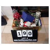 BOX: HOLIDAY DECORATIONS
