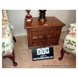 END TABLE SHEET MUSIC CABINET