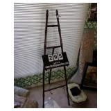 BAMBOO STYLE EASEL