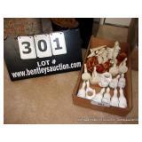 BOX: ASSORTED NAPKIN RINGS