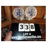 LOT: 2-CAIRO PLATES 2-CAIRO CUPS, & SAUCERS