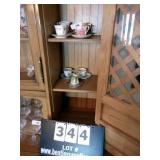 LOT: 6 CUPS & SAUCERS W/ 1-EXTRA CUP & SAUCER