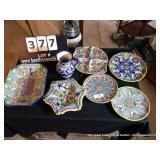 LOT: 7 PIECES MEXICAN POTTERY
