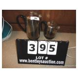 LOT: STAINLESS STEAL COFFEE POTS W/ CORDS