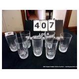 LOT: 7 GLASSES