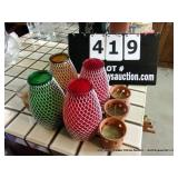 LOT: ASSORTED CANDLES