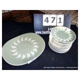 LOT: 17 PIECES HARKERWARE DISHES