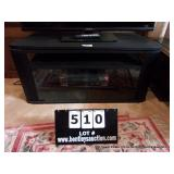 SHARP VHS VCR W/ TV STAND