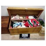 THE FRANKLIN HOPE CHEST & CONTENTS