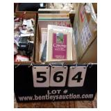 BOX:  ASSORTED BOOKS