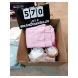 BOX:  TOWELS & MISCELLANEOUS