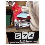 BOX:  ENVELOPES, PHONE BOOKS