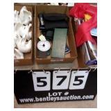 BOX:  ELECTRONICS, CALCULATORS, REMOTES