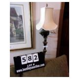 ANTIQUE BRASS FINISH WALL SCONCE LIGHT
