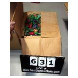 BOX:  OLD C9 MULTI-COLOR CHRISTMAS LIGHTS