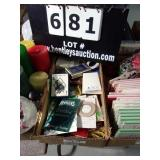 BOX:  CARDS - PENCILS