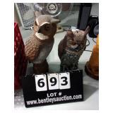 LOT: OWL DECOYS  ( 2 X MONEY )