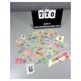 LOT: ASSORTED MIXED CANCELED US STAMPS