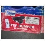 """PUTNAM STEP BUMPER HITCH BOX & 2"""" ID RECEIVER TUB"""