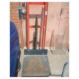WESCO PRODUCT LIFT MODEL: DPL-54-2222-3W220 750 LB