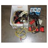 BOX: ASSORTED ELECTRONIC MODULES & METERS